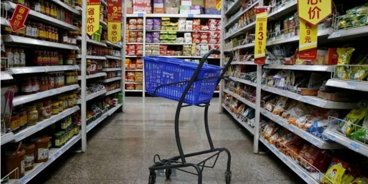 Inflation chinoise conforme aux attentes, pas le PPI
