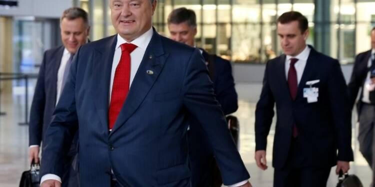 Porochenko réaffirme à l'Otan son opposition à Nord Stream 2