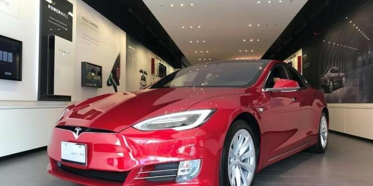 L'avantage fiscal pour l'achat d'une Tesla va baisser