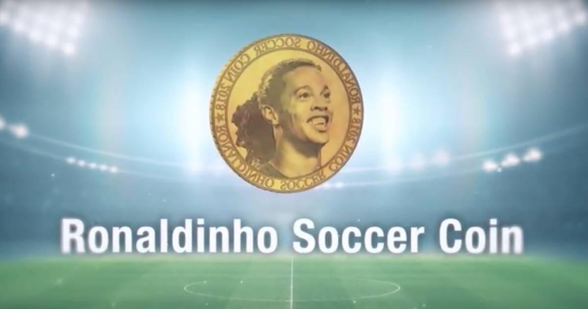 """L'ancien footballeur brésilien se lance à son tour dans l'aventure des cryptomonnaies avec le """"Ronaldinho Soccer Coin"""". On vous explique en quoi c'est un cas d'école., Derrière ce titre alléchant se cache"""