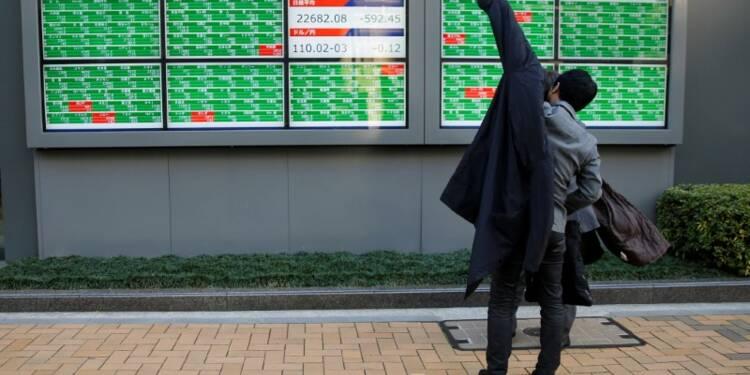 Le Nikkei à Tokyo rebondit de 1,17%