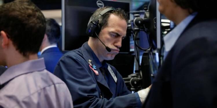 Wall Street hésitante après des résultats de banques contrastés
