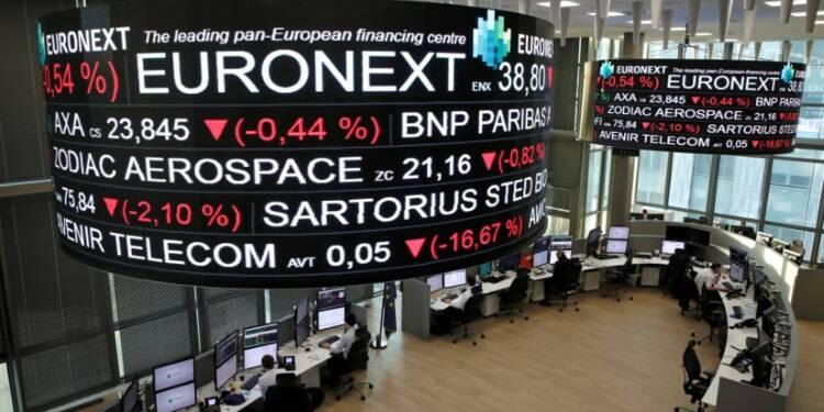 """Les Bourses européennes montent avec les """"techs"""" malgré le plongeon d'Altran"""