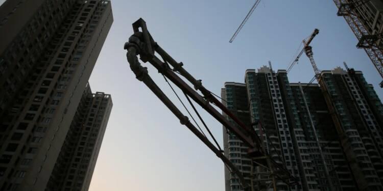 La croissance de l'investissement immobilier chinois ralentit