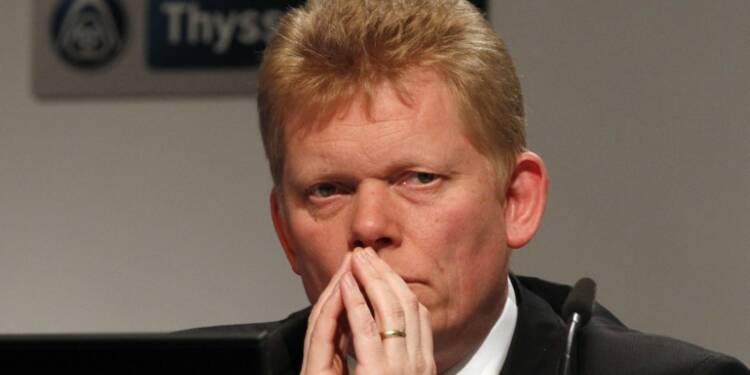 Thyssenkrupp doit améliorer sa rentabilité et se restructurer, selon son DG