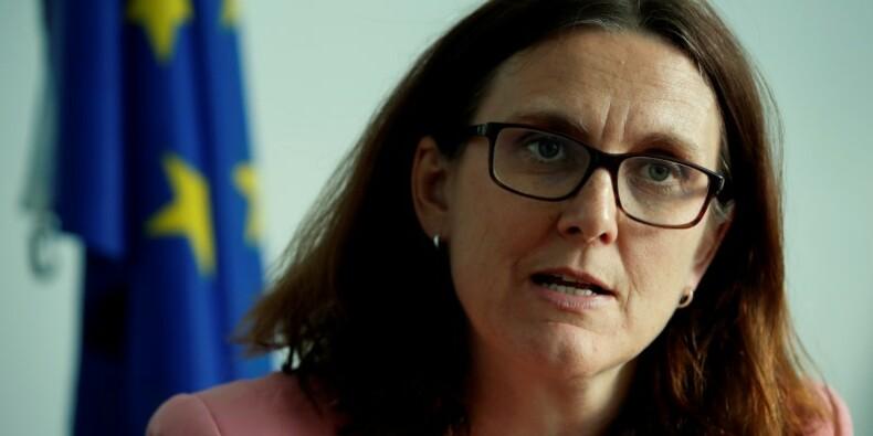 L'UE prépare une riposte en cas de tarifs US sur les autos, annonce Malmström