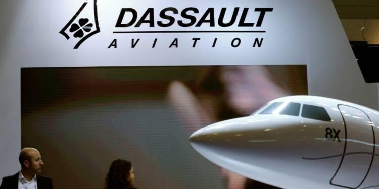 Dassault Aviation voit une reprise du marché des jets d'occasion