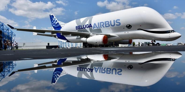 Premier vol pour le spectaculaire Airbus Beluga XL