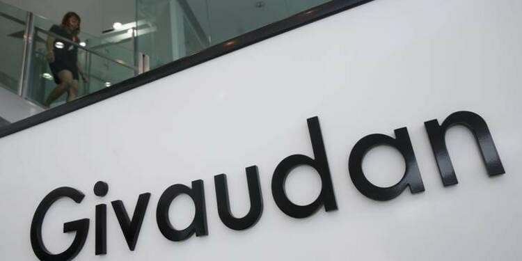 Givaudan subit une baisse de son bénéfice au premier semestre