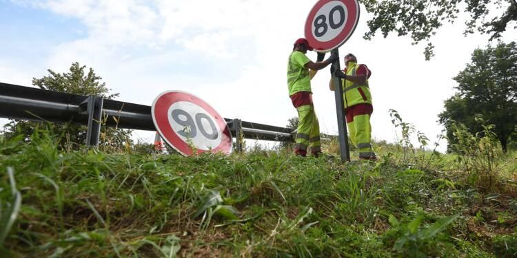 Limitation de vitesse à 80km/h : le Conseil d'Etat a rendu sa décision