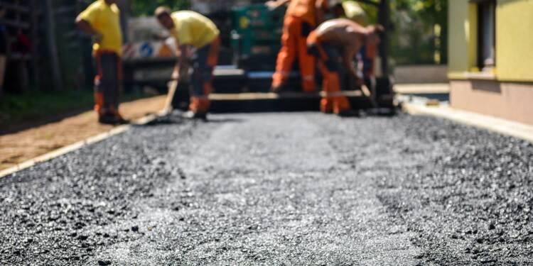 Une pénurie de bitume retarde les chantiers routiers