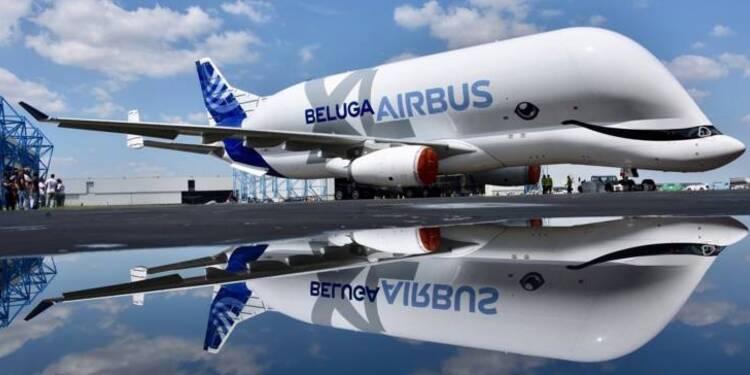 Les images du premier vol du Beluga XL, le nouveau géant d'Airbus