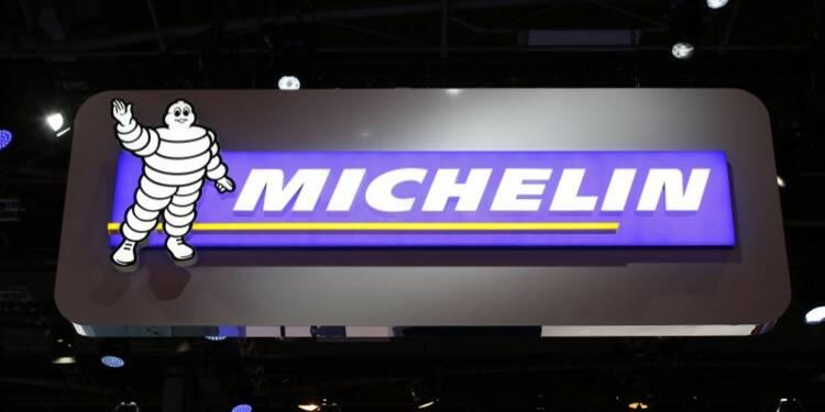 Michelin: Les changes pèsent au 1er semestre, objectifs confirmés