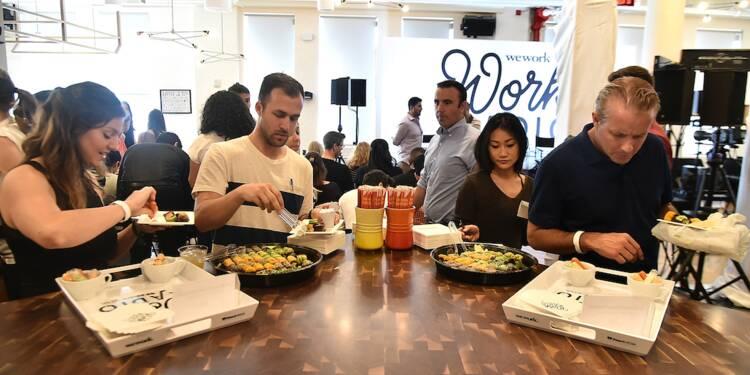 Chez WeWork, les salariés poussés à devenir végétariens !