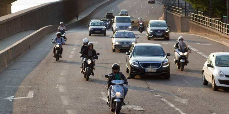 Les véhicules polluants au garage pendant deux jours