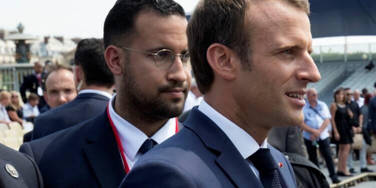 """Selon Benalla, l'affaire est """"l'opportunité"""" d'atteindre Macron"""