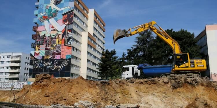 L'essoufflement de la construction de logements se confirme