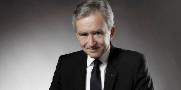 Bernard Arnault est à la tête de LVMH.