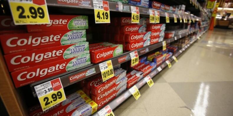 Colgate déçoit avec ses ventes, le titre baisse