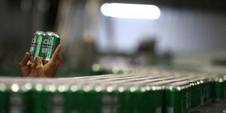 Heineken réduit son objectif de marge, le titre chute