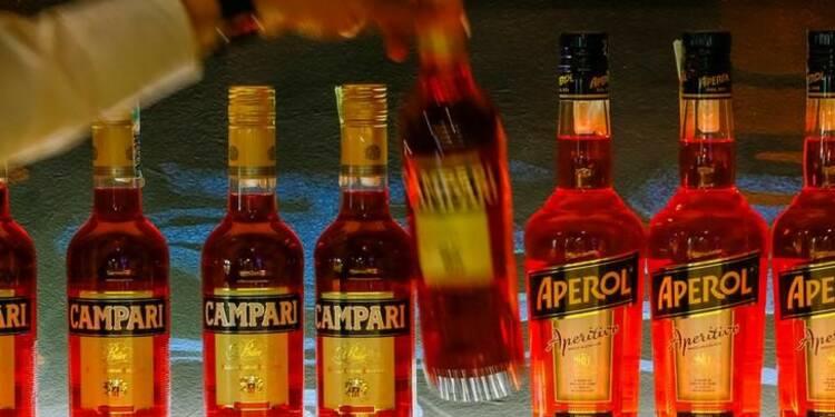 Campari améliore sa marge brute au premier semestre, aidé par les ventes d'Apérol