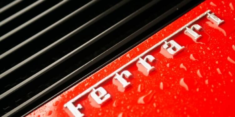 Ferrari confirme ses prévisions sous la houlette d'un nouveau patron