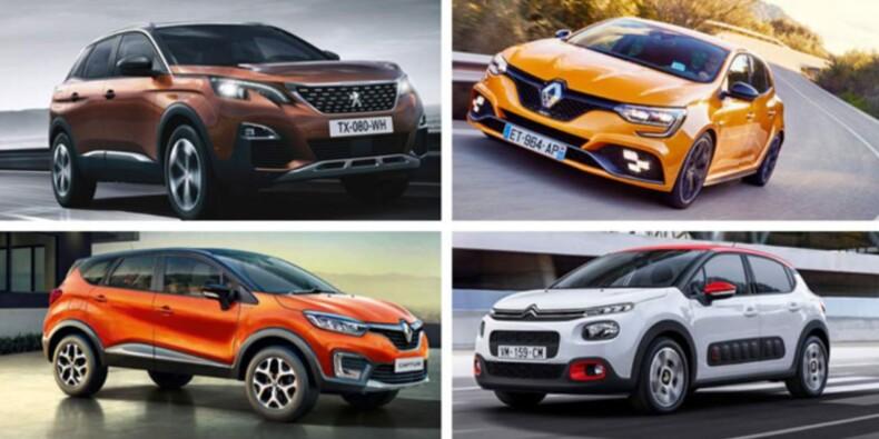 Peugeot, Renault, Citroën, DS : les constructeurs tricolores boostent le marché automobile