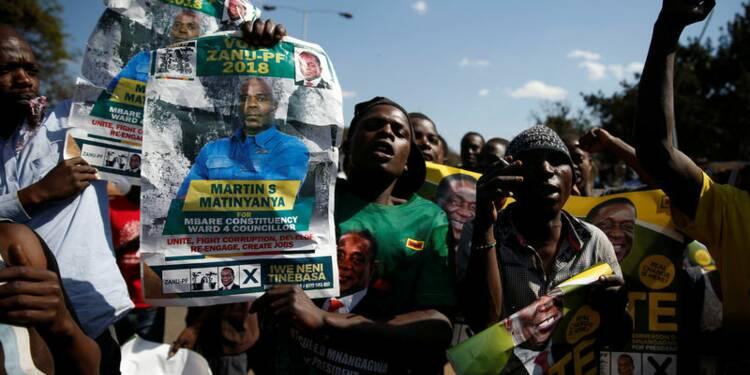 La Zanu-PF majoritaire au parlement zimbabwéen