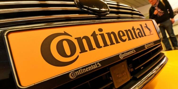 Continental confirme ses objectifs malgré les nouvelles normes