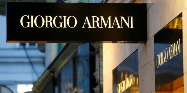 Armani prévoit deux années encore de baisse du chiffre d'affaires et des profits