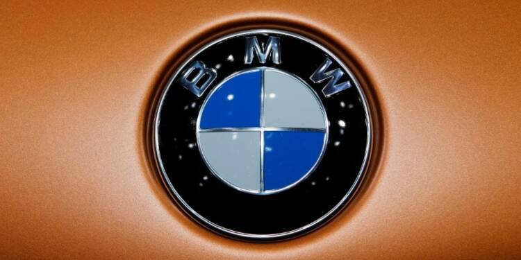 BMW: Recul moins marqué que prévu du bénéfice au 2e trimestre