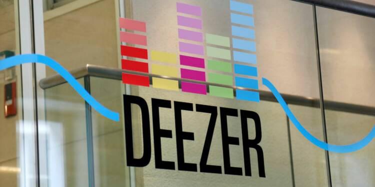 Deezer lève 160 millions d'euros