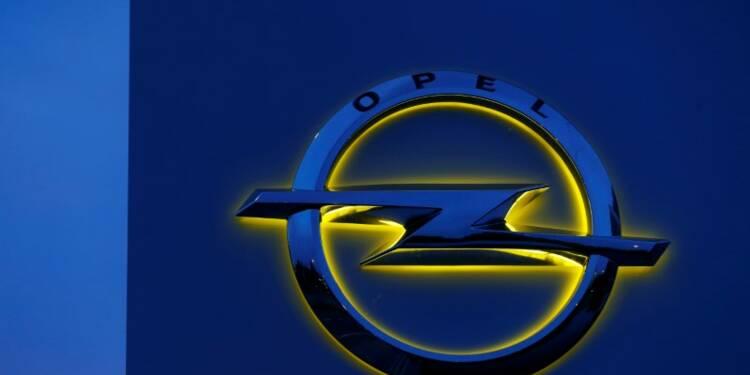 Opel ralentira la production de deux sites allemands