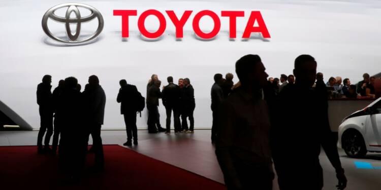 Toyota dégage son meilleur bénéfice depuis deux ans et demi