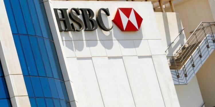 HSBC freiné au 1er semestre par le règlement d'un litige