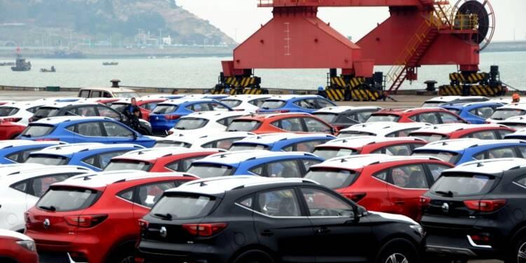 Les importations chinoises de voitures ont chuté de 87% en juin
