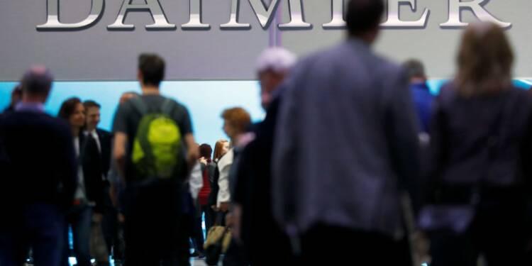 Daimler abandonne ses projets en Iran après les sanctions US