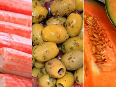 Surimi, olives, melon… Attention aux étiquettes trompeuses !
