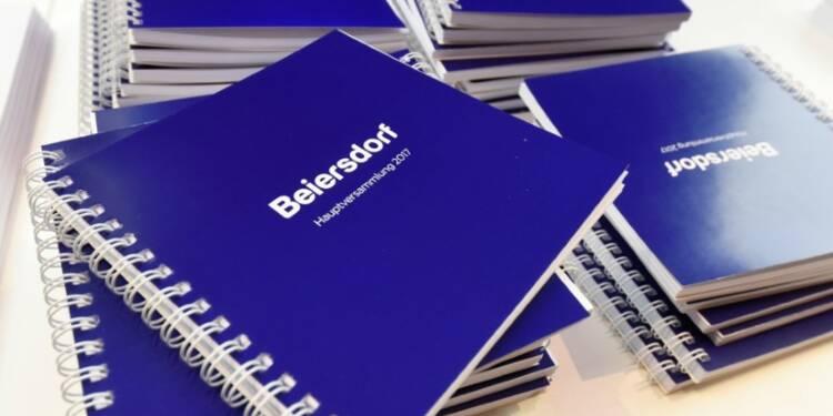 Beiersdorf relève sa prévision de chiffre d'affaires 2018