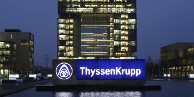 Thyssenkrupp: La refonte passera pas des suppressions de postes, dit Kerkhoff