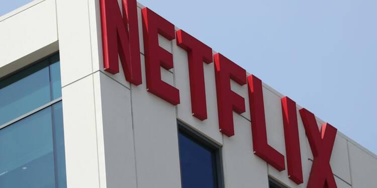 Départ du directeur financier de Netflix, l'action baisse
