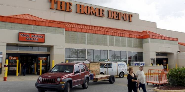 Home Depot: 2e trimestre meilleur que prévu et prévision relevée