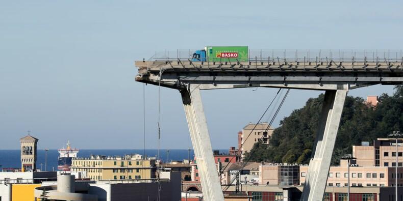 La société concessionnaire du pont de Gênes se défend