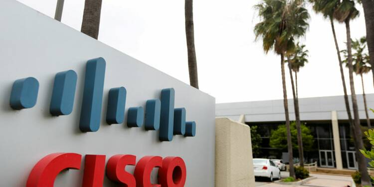 Cisco: CA meilleur que prévu avec la cybersécurité, hausse du titre