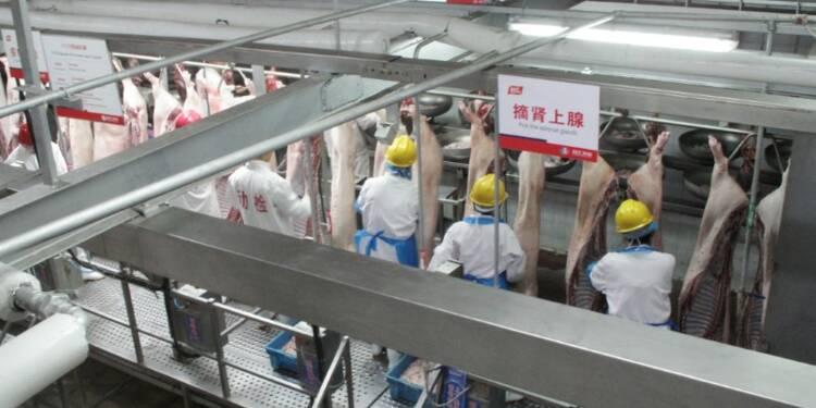 Un abattoir fermé après un second cas de peste porcine en Chine