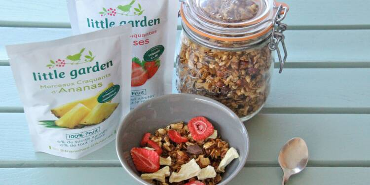 Little Garden, les fruits en sachet qui ne perdent pas leurs vitamines
