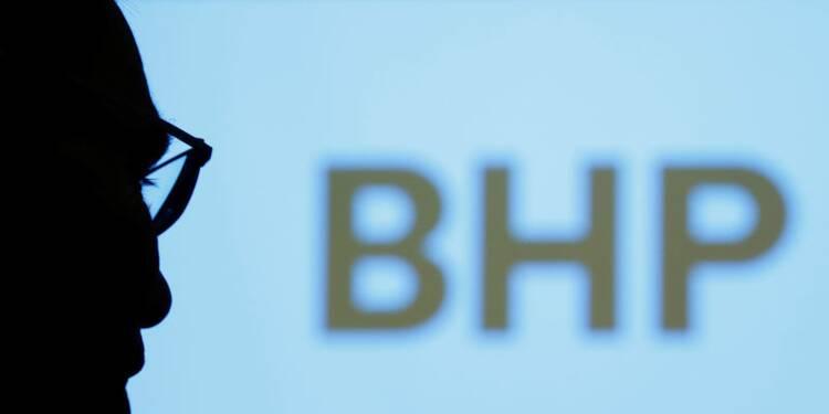 BHP se montre prudent pour le court terme, le titre baisse