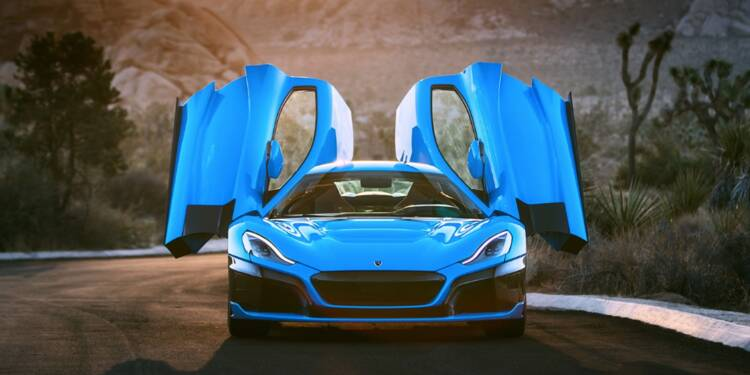 Rimac C_Two : une version California encore plus luxueuse de l'hypercar électrique croate