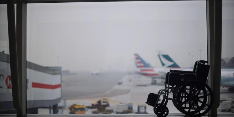 Un tétraplégique privé d'avion, car son fauteuil est trop lourd