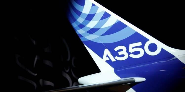 Qantas réfléchit à une version plus grande de l'A350 d'Airbus